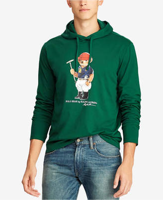 Polo Ralph Lauren Men Polo Bear Hooded T-Shirt