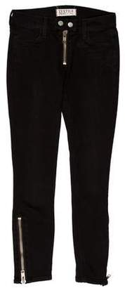 Elizabeth and James Textiles x Mid-Rise Skinny Jeans