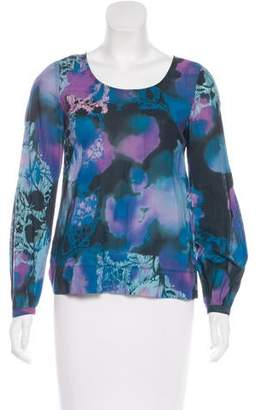 See by Chloe Tie-Dye Long Sleeve Top