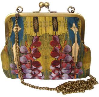 Burton Emma Green Heart Digital Print Silk Bag