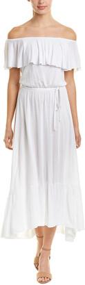 Three Dots Off-The-Shoulder Maxi Dress
