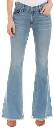 James Jeans Bella Flat Artisan Raw Flare Leg