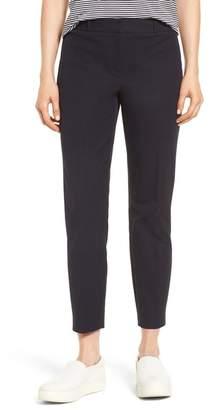 Nordstrom Signature Welt Pocket Slim Leg Crop Pants