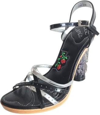 Free Lance Patent leather sandals