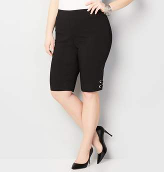 Avenue Grommet Pull-On Bermuda Short
