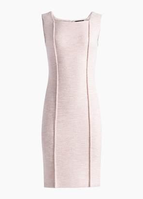 St. John Belinda Knit Square Neck Dress