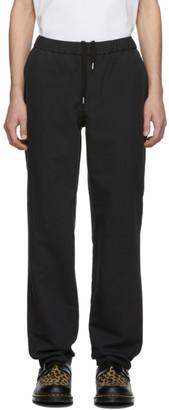 Schnaydermans Black Wool Twill Trousers