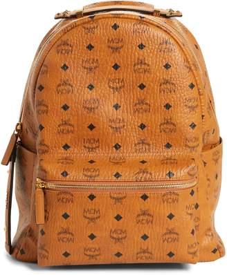 MCM Stark Coated Canvas Backpack