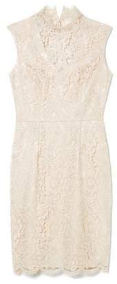 Vince Camuto Lace Mock-neck Dress