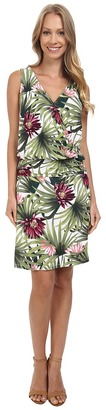 Tommy Bahama Proteia Garden Blouson Dress $138 thestylecure.com