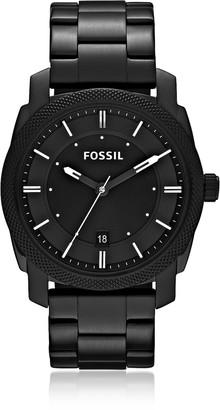 Fossil Machine Black Stainless Steel Men's Watch