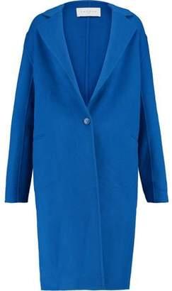 Sandro Paris Wool-Blend Felt Coat
