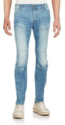 G Star Deconstructed Tapered Jeans