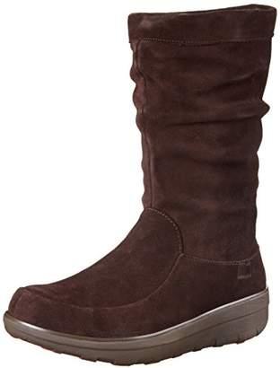FitFlop Loaff Knee, Women's Slouch Boots,(36 EU)