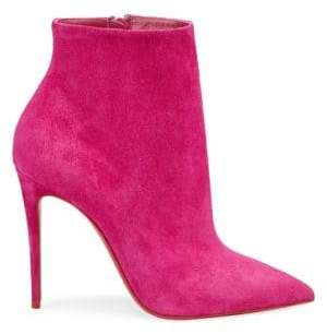 Christian Louboutin So Kate 100 Suede Booties