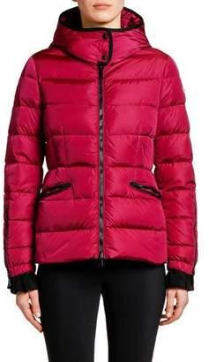 Moncler Betula Hooded Puffer Coat