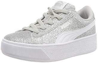 87dce26350ac4a Puma Girls Vikky Platform Glitz Ac Ps Low-Top Sneakers