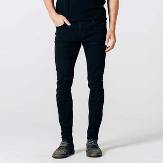 DSTLD Skinny Jeans in Stretch Jet Black