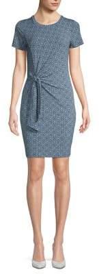 MICHAEL Michael Kors Tie-Front Sheath Dress