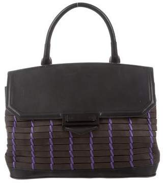 Alexander Wang Woven Leather Satchel