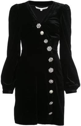 Veronica Beard velvet asymmetrical dress