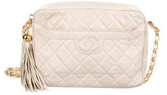 Chanel Quilted Camera Crossbody Bag