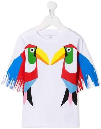 Stella McCartney toucan print T-shirt