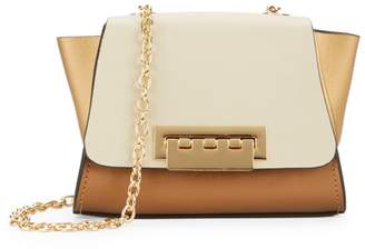 Zac Posen Eartha Mini Colorblock Leather Crossbody Bag
