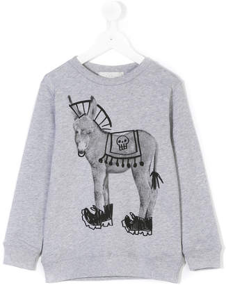 Stella McCartney Biz punk donkey print sweatshirt