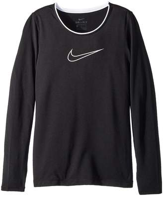 Nike Pro Long Sleeve Top Girl's Clothing