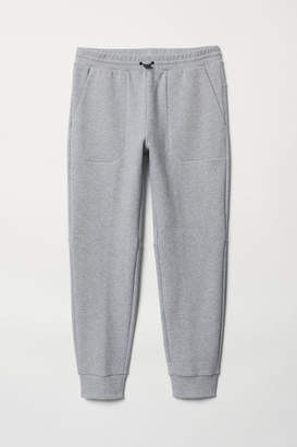 H&M Jersey Sports Joggers - Gray