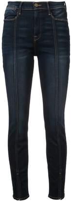 Frame Le High felt-split jeans