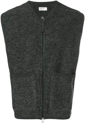 Universal Works front pocket zipped vest