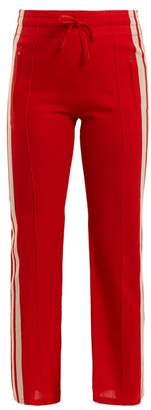 Etoile Isabel Marant Dobbs Stripe Trimmed Track Pants - Womens - Red