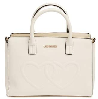 Love Moschino Embossed Hearts Shoulder Bag