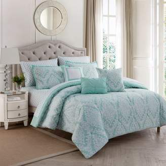 Unbranded Hyde Damask 10pc Comforter Set