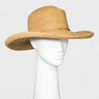 A New Day Women's Telescope Kettle Edge Floppy Hat Natural