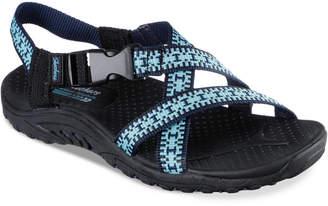 Skechers Women's Reggae Kooky Sport Sandals from Finish Line $39.99 thestylecure.com