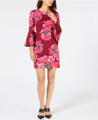 Trina Turk Bell-Sleeve Dress