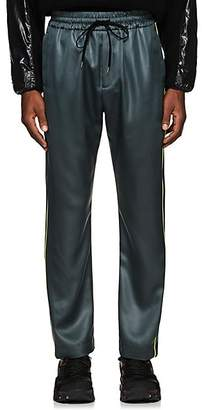 Cmmn Swdn Men's Buck Piping-Accented Track Pants - Gray
