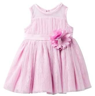 Nanette Lepore Lace Tulle Dress (Baby Girls)