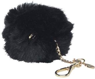 Ted Baker Womens Lolaa Fluffy Character Bag Charm Black