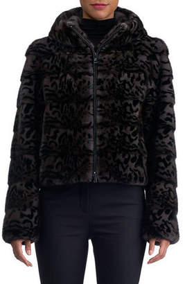 Gorski Mink Fur Cropped Jacket