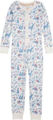 Boden Mini Fitted Cosy All in One Pajamas