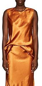 SIA Sies Marjan Women's Washed Satin Tunic - Sienna