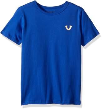 True Religion Big Boys' Branded Logo Tee Shirt