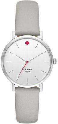 Kate Spade Gramercy leather watch