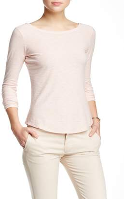 James Perse Scoop Back Long Sleeve T-Shirt