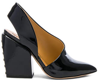 Petar Petrov Patent Leather Siri Heels