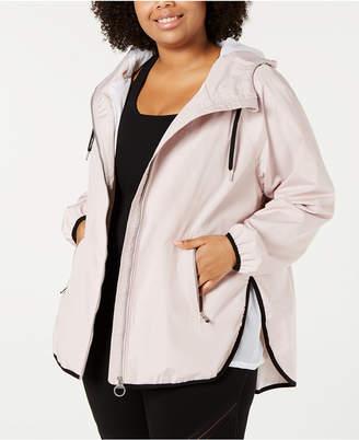 Calvin Klein Plus Size Cross-Over Back Jacket